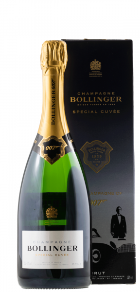10714 Bollinger Special Cuvee Limited Edition James Bond 007