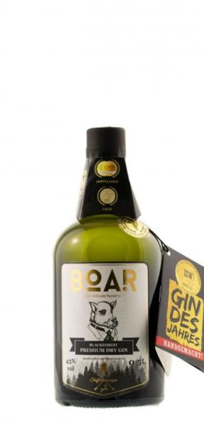 8462 Boar Premium Black Forest Dry Gin 500ml