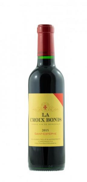 9896 2015 La Croix Bonis Saint Estephe 0,375l