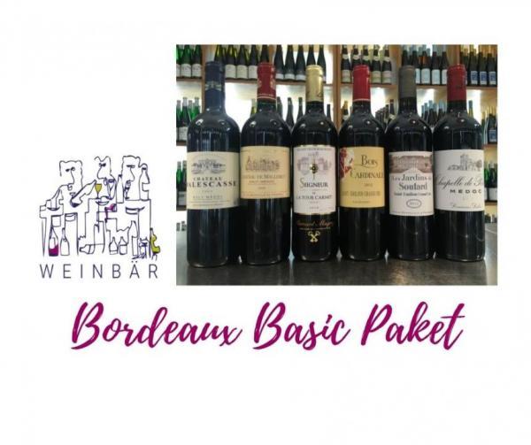 Bordeaux Basic Paket 6 Flaschen