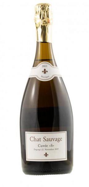 10076 2013 Cuvee S Chardonnay Chat Sauvage