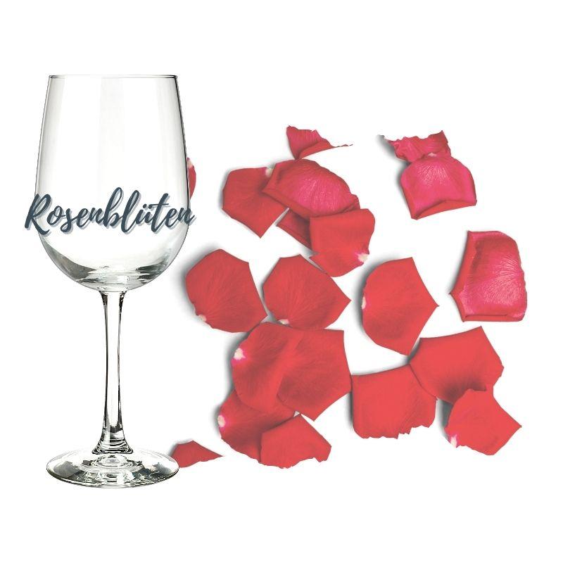 Rosenblüten-Aromatik im Weinglas