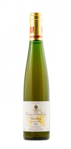 10390 1997 Ihringer Winklerberg Herrgottswinkel Riesling Beerenauslese 0,375 Stigler Baden