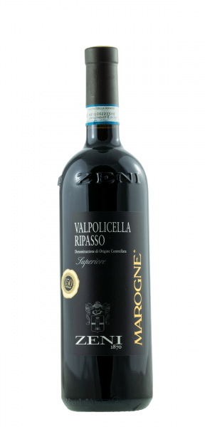 10698 2018 Valpolicella Ripasso DOC Superiore Marogne Zeni