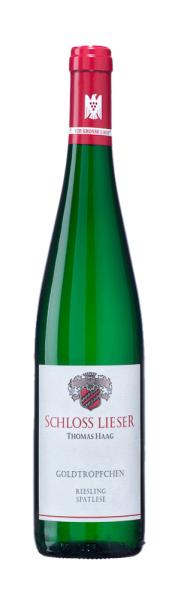 10126 2019 Piesporter Goldtroepfchen Riesling Spaetlese Weingut Schloss Lieser
